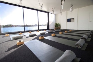 yoga studio odor removal