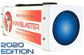 maxblaster ozone generator for odor removal