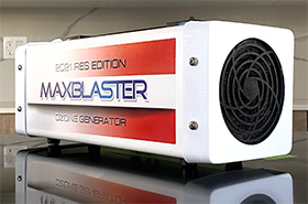 official home of maxblaster ozone generators for odor mold removal